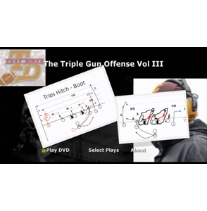 The Triple Gun Quick Game – Virtual Playbook DVD