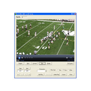 Footbal Scouting and VIdeo Editing Software