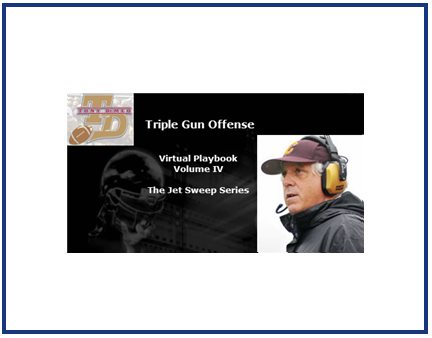 Triple Gun Offense Virtual Playbook Vol. IV : The Jet Sweep Series