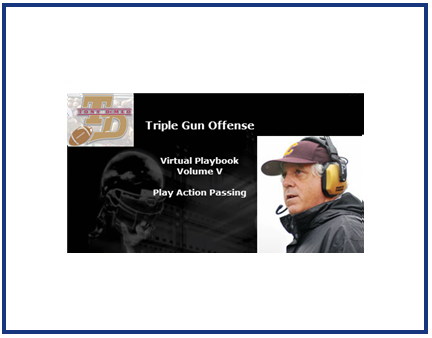 Triple Gun Offense Virtual Playbook Vol. V : Play Action Passing