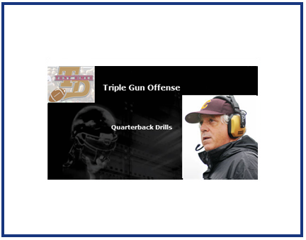 Triple Gun Quarterback Drills