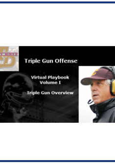 Triple Gun Offense Virtual Playbook Vol. I  Overview