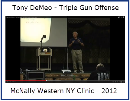 The Triple Gun Offense: Western NY Clinic