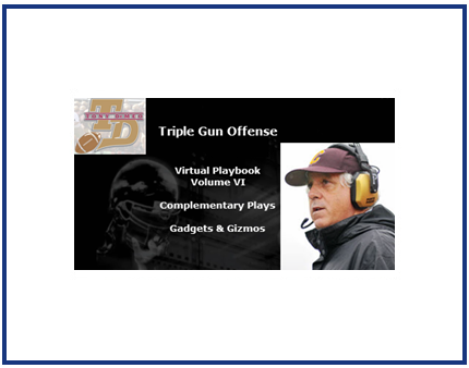Triple Gun Offense Virtual Playbook Volume VII : Gadgets and Gizmos